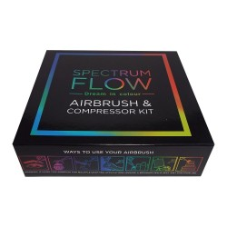 Kit Aérographe Airbrush et Compresseur spectrum flow