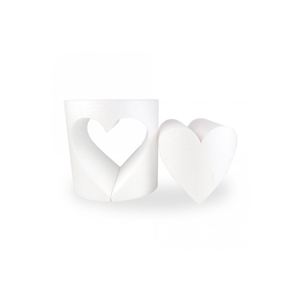 Dummies with heart cut out shape 20cm