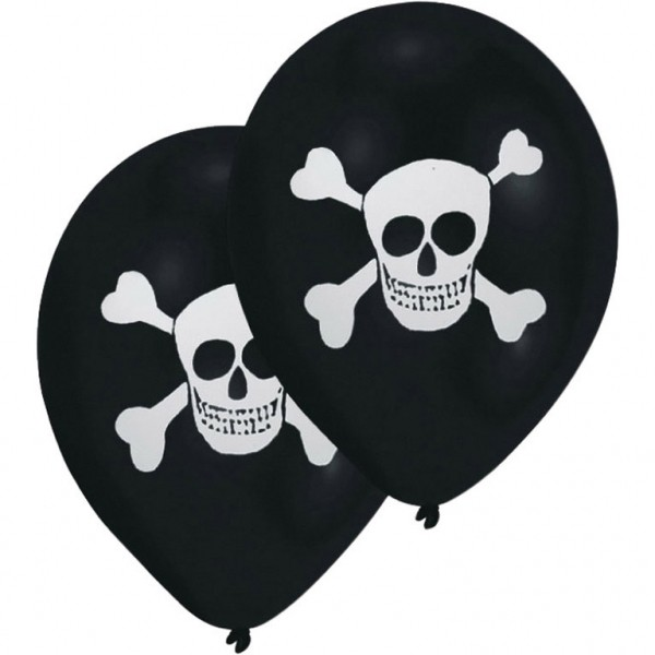 Pirate Party Balloon x8