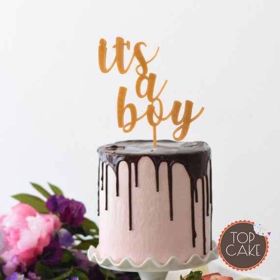 TopCake – Mr & Mrs Topper Gold