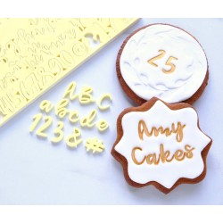 SweetStamp - Cookie - Majuscules, minuscules, chiffres & symboles x5