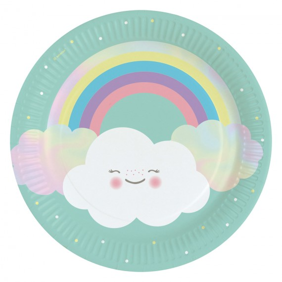 Rainbow & Clouds napkins x20