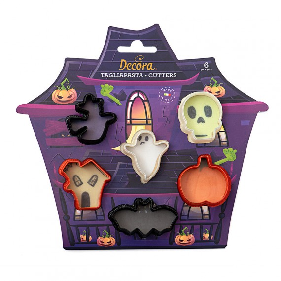 Wilton 4 Hallooween cookie cutter