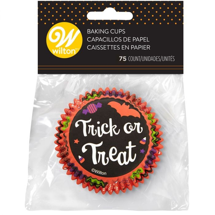 75 caissettes trick or treat