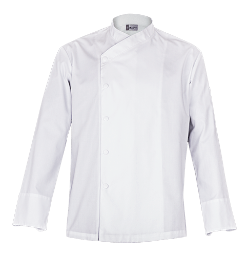 SFAX White Chefs jacket - long sleeves