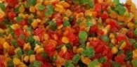 Cubes of candied fruits 1kg