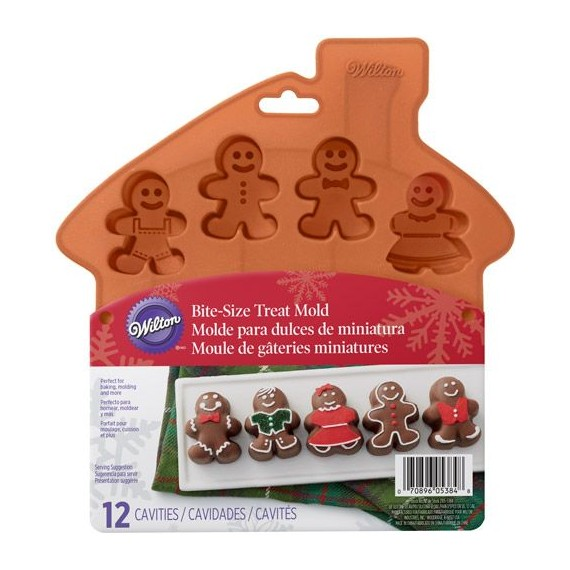 Moule silicone gingerbread