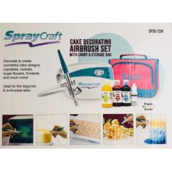 Kit Aérographe Airbrush et Compresseur Cray Craft (ex- Cassie Brown)