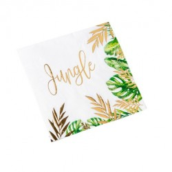 16 serviettes Tropical Jungle