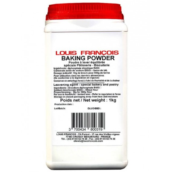 Leavening baking powder