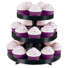 Spider cupcaker display stand