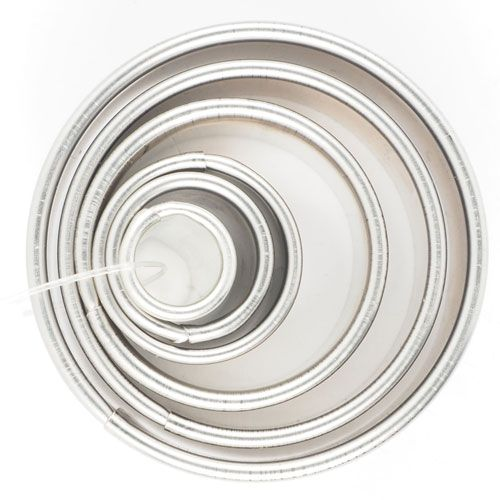 Smooth and fluted round cookie cutter