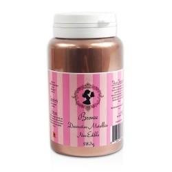 Poudre rose gold (bronze) cake lace