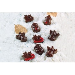 Chocolate panda silicone mould