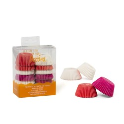 Wilton small rainbow baking cups x150