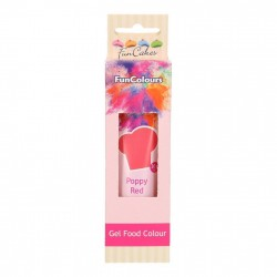 Colorant Alimentaire Gel poppy red Funcakes
