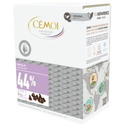 DROPS CHOCOLAT (cacao 44%) 6 KG Cemoi