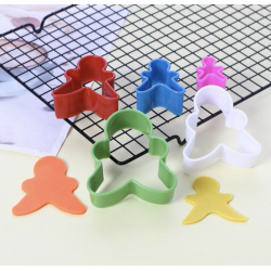 Star shaped cookie cutter (x3) 4,5,6 cm