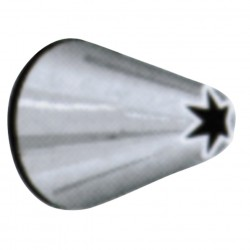 4mm star shaped piping nozzle n°230194**