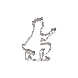 Kneeling prince cookie cutter – Prince charming*