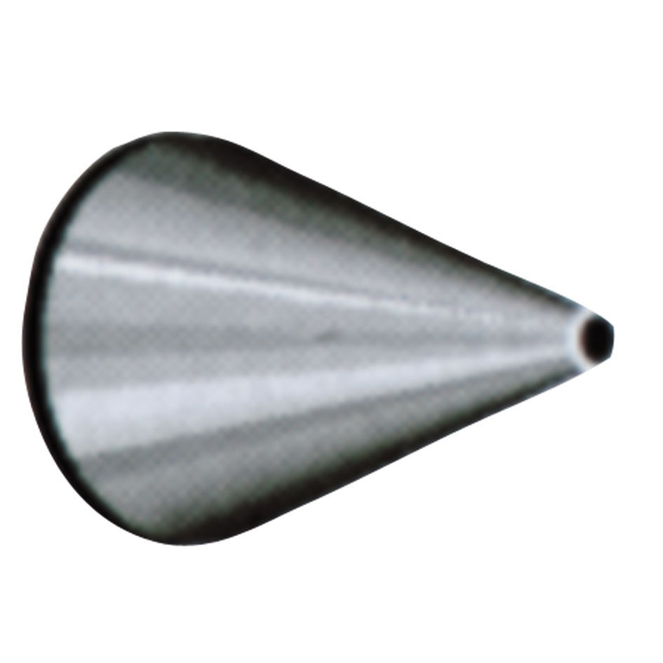 1mm Round piping nozzle n°230019