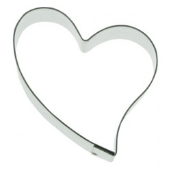 Romantic heart cookie cutter
