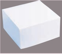 5 White pastry boxes 22cm