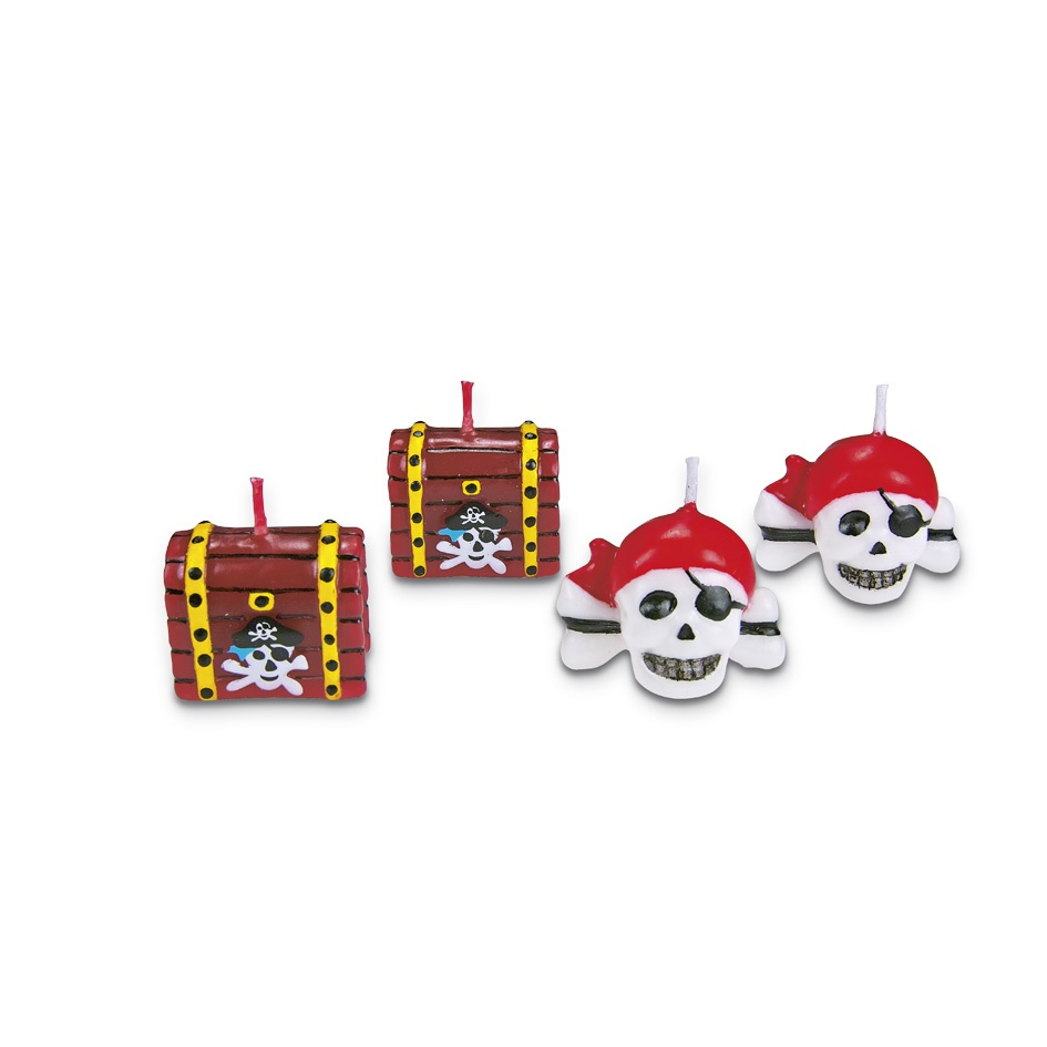 Pirate candles *