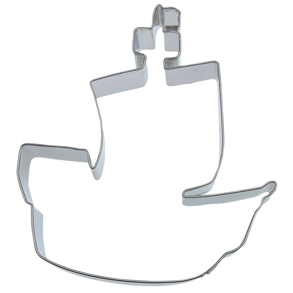 Pirate ship cookie cutter*