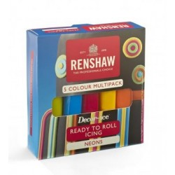 Renshaw Neon colours sugarpaste kit