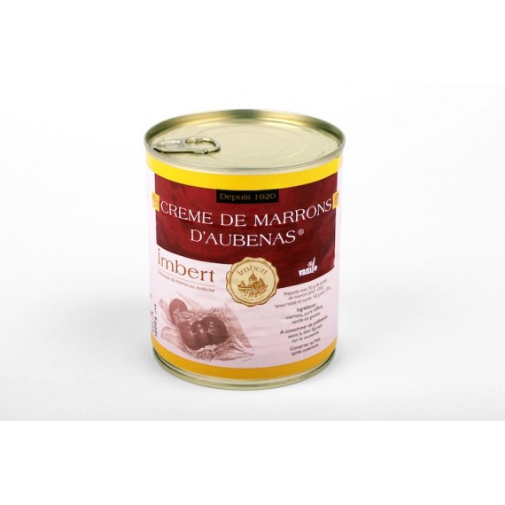 Aubenas' chestnut puree 850ml - Imbert