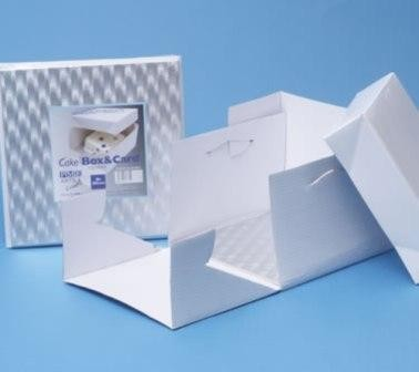 20cm Square wedding cake box