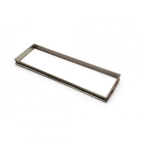 Rectangle à tarte Inox 350