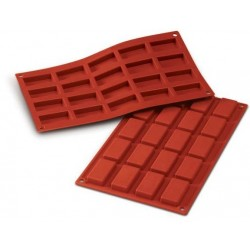 Small financier silicone mould
