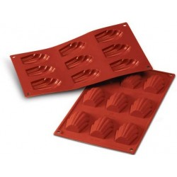 Silicone madeleine mould