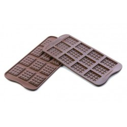 Small chocolate plate silicone pan