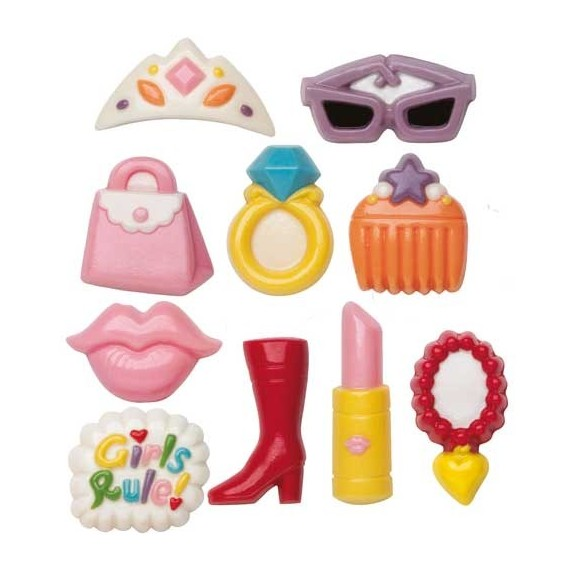 Wilton Girly lollipop mould**