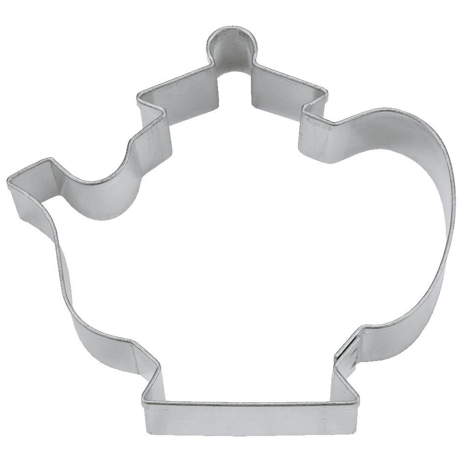 Teapot cookie cutter - tea party