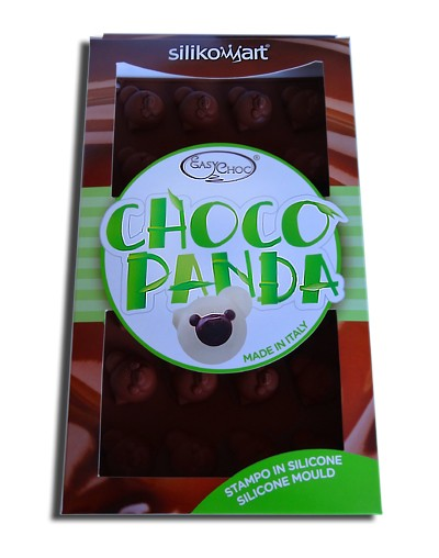 Chocolate panda silicone pan