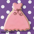 Dress cookie cutter