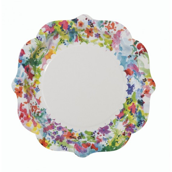 Assiettes motif Liberty