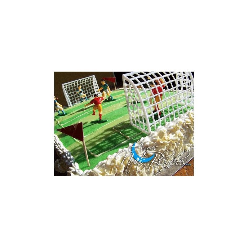 Kit football d coration de g teau d anniversaire - Decoration football pour anniversaire ...