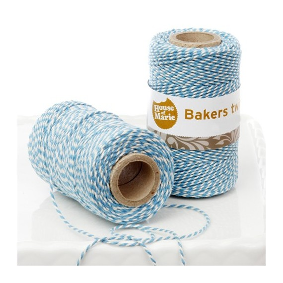 Bakers twine string blue dual coloured 65 ft. 7.4 in.