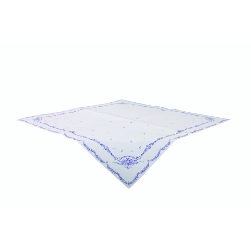Porcelaine theme table cloth