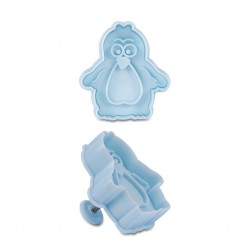 Penguin form cutter with ejector