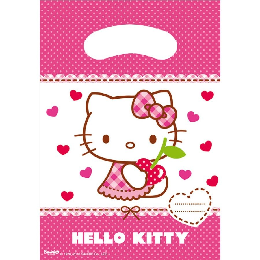 Cherry Hello Kitty Gift bags
