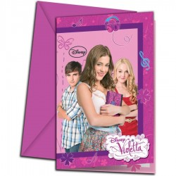 Cartons d'Invitation Violetta*