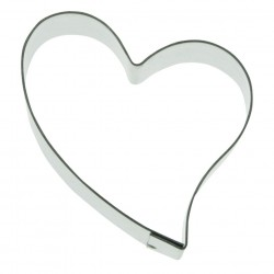 Romantic Heart Form cutter 2.16 in.