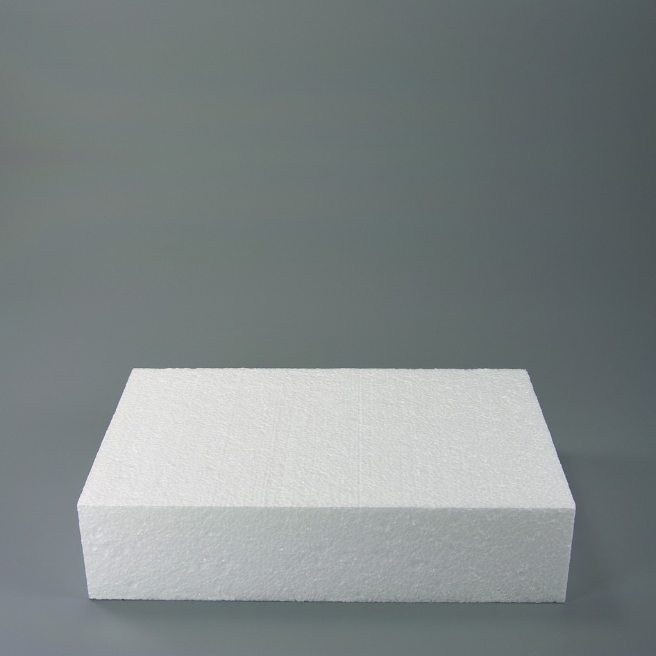 Rectangle Dummy – Polystyrene for cakes 11.81 in. X 7.84 in.**