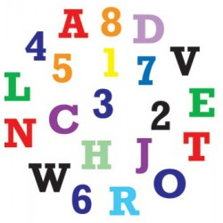 Alphabet and number form cutters
